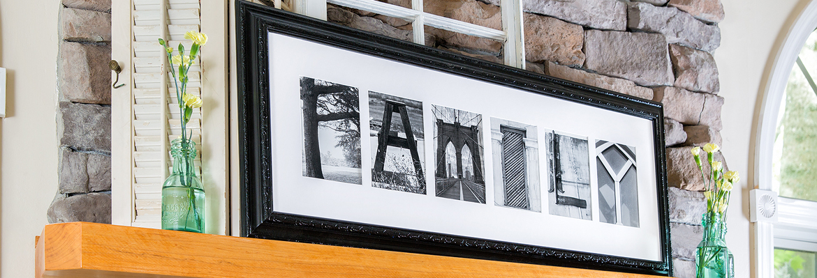 Framed Name by Frame the Alphabet