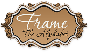 Frame the Alphabet Logo